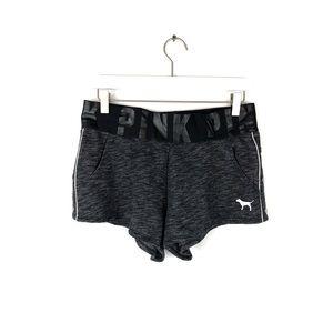 Victoria's Secret PINK | Dark Grey Logo Shorts